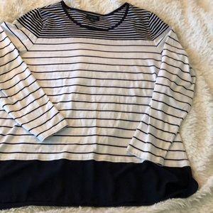 Cute striped nautical inspired top